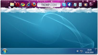 Multibar (ticno). Ультрастильная панель для Windows